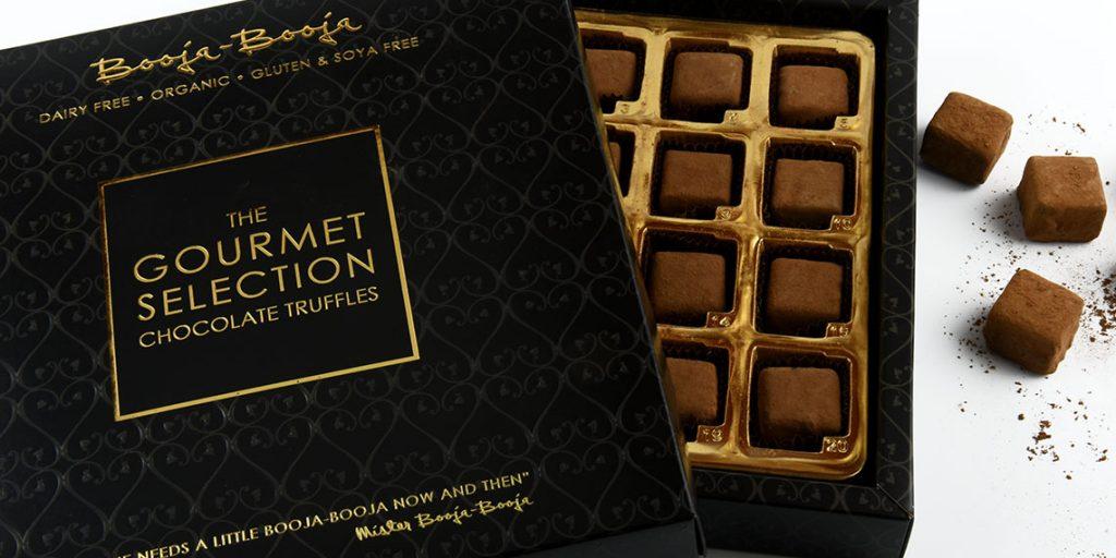 booja booja gourmet selection chocolate truffles