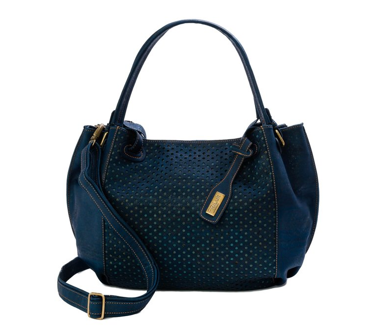 blue cork handbag by FRiLuk