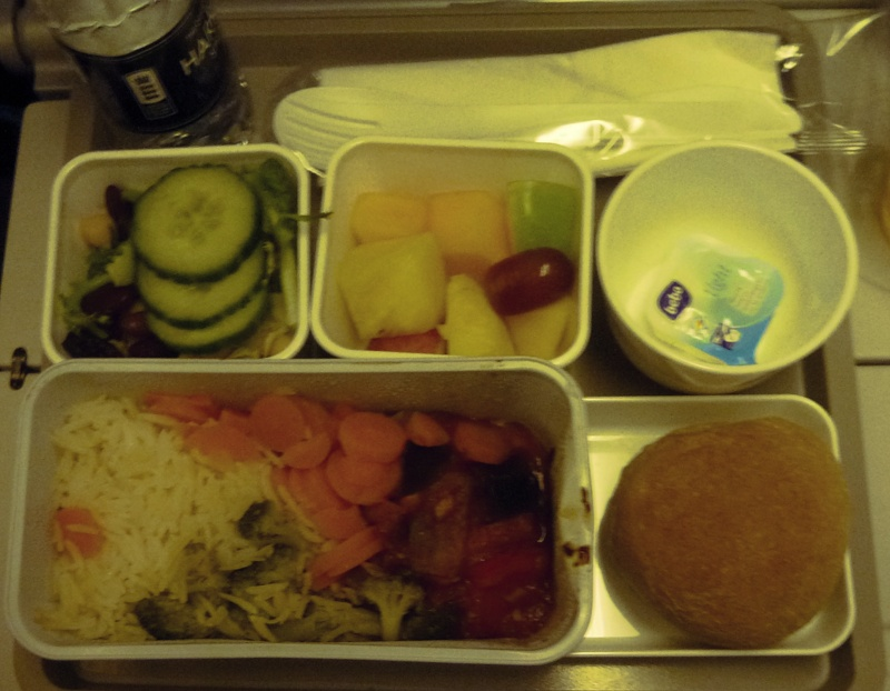 VGML meal Cathay Pacific
