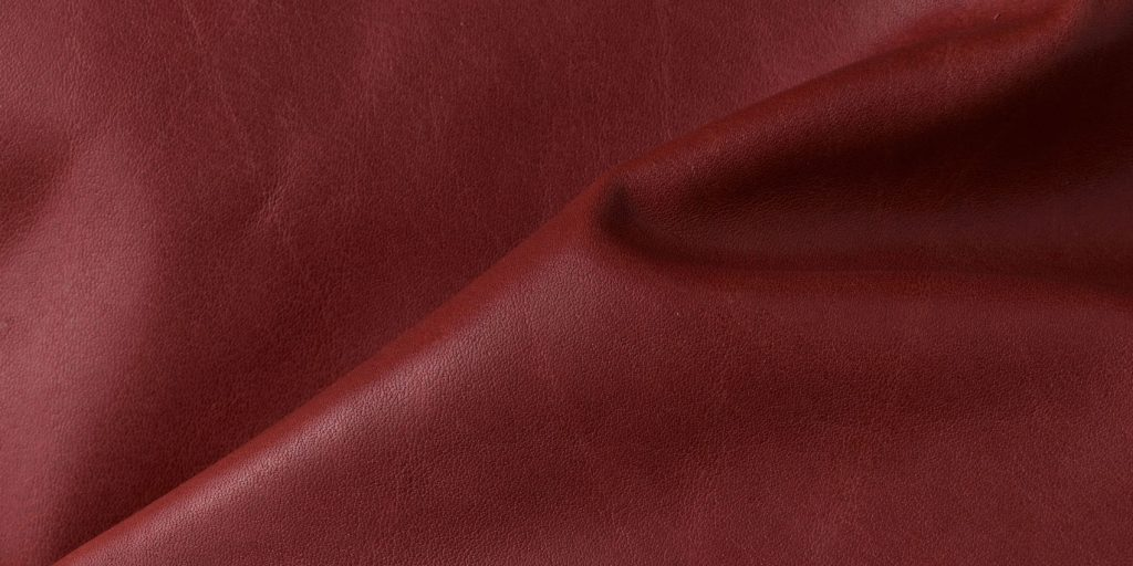close up of vegan leather made from winemaking by-products